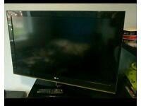 "37"" LG flat screen TV"