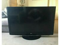 """47 """" LG LCD tv full HD with build in freeview."""