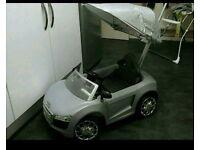 Audi push ride