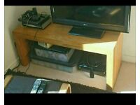 TV unit and 2 x coffee tables