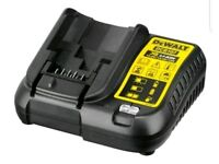 DeWalt DCB107 10.8v, 14.4v & 18v XR Li-Ion Battery Charger **NEW UK MODEL**
