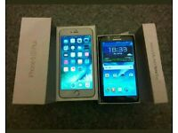 iPhone 6s plus, Samsung galaxy note 2