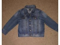Zara baby denim jacket age 18-24 months