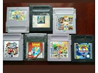 Gameboy colour games lot