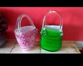 Handbag vases