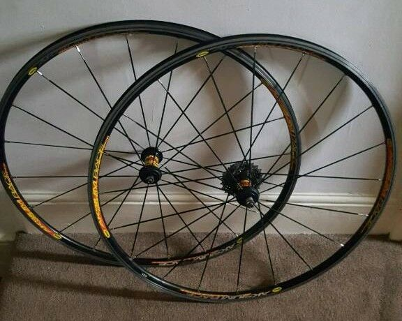 For Sale Is A Set Of The Mavic Aksium Race Wheels In
