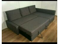 Beautiful Corner Sofa Bed. Only £340. Excellent condition. *Free Delivery & Free assembly*
