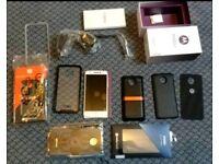Motorola Moto Z 4gb UK 32GB Gold/White Unlocked with mods and extras qhd amoled