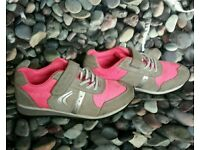 ***Girls Clarks trainers infant size 10F