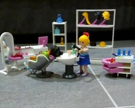 Playmobil 5487 Beauty Salon. From a smoke free and pet free home. VGC !