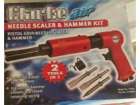 Needle scaler pneumatic tool