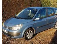 2005 Renault grand scenic 7 seater