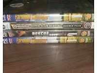 4 sealed PC Games