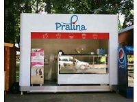 KIOSK/shop/mobile/removable/catering trailer/street retail/commercial space/sale/coffee/food/unit