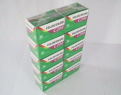 FUJIFILM Fujicolor C200 200 ISO 135-36 Exp. 35mm Film - 10 Rolls