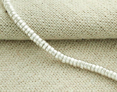 - Karen Hill Tribe Silver 100 Little Ring Beads 3x1.5 mm. 6.5