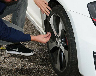 Under-inflating tyres improves traction