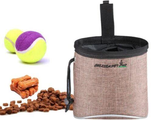 Pet Dog Training Treat Bag Outdoor Dog Treat Pouch Waist Feed Bundle Pocket