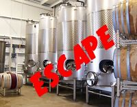 Escape Room Games at Boreal Winery