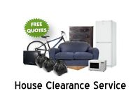 Professional House Clearance Service. Rubbish cleared cheaper than a skip. Old furniture recycled