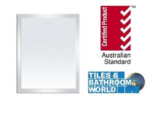 ALUMINIUM FRAMED MIRROR, 900 X 750 MM CLEARANCE SALE