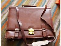 Leather ladies Briefcase/satchel