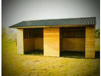 Equstrian Field Shelters and Stables