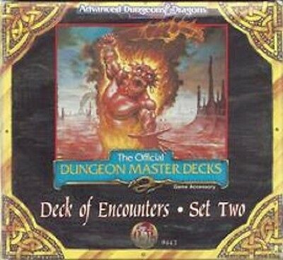 TSR AD&D - Official Master Deck of Encounters - Set Two
