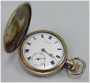 Antique Full Hunter Pocket Watch