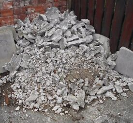 Free Builder Hardcore / Concrete for filling in