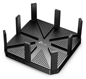 New TP Link AC5400 Wireless Wi-Fi Tri-Band Gigabit Router Archer C5400