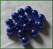 Christbaumkugeln Blau