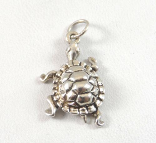 sterling silver turtle pendant ebay
