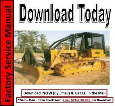 Case 450 Crawler Dozer Bulldozer Shop Manual Operators Manual