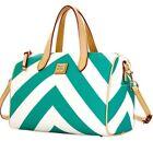 Dooney & Bourke Chevron Satchel Bags