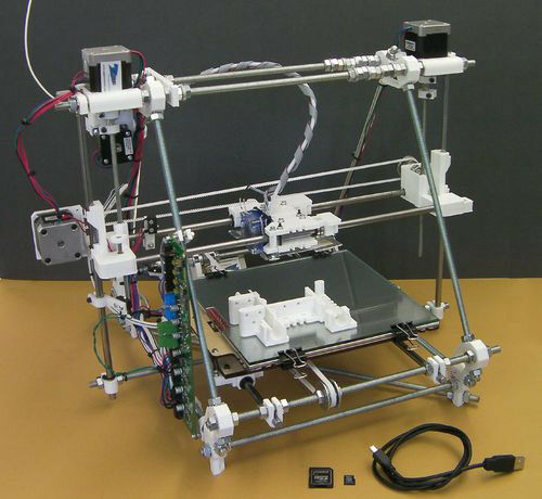 3D PRINTER - Mendel, from Reprappro