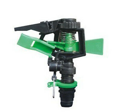 """1/2"""" Plastic controllable angle  rotary impact Adjustable sprinkler heads"""