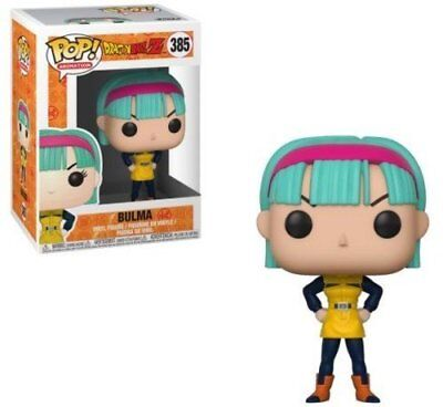 Funko Pop Animation  Dragonball Z Bulma  Yellow Outfit  385 32247 In Stock