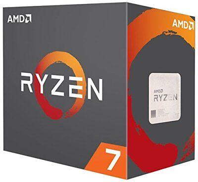 Ryzen 7 1800X 3,6 GHz Sockel AM4 – boxed - YD180XBCAEWOF - NEU OVP