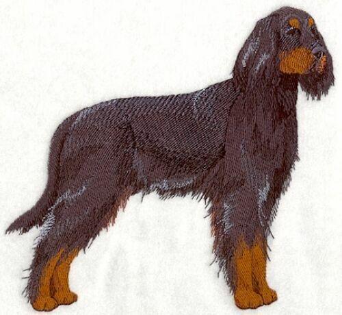 Embroidered Short-Sleeved T-Shirt - Gordon Setter C4801 Sizes S - XXL