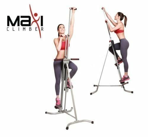 Maxi Climber Unisex Vertical Climbing Fitness System Stepper Cardio Machine