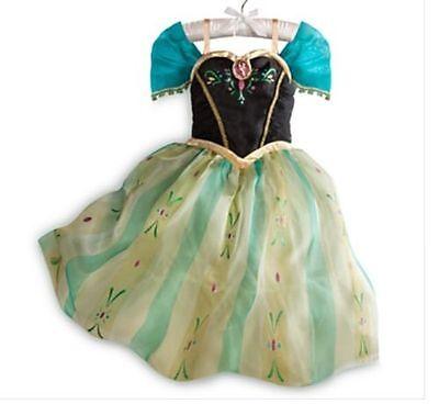 Frozen Coronation (NWT DISNEY STORE Frozen Princess ANNA CORONATION COSTUME DRESS Gown 7/8 9/10)