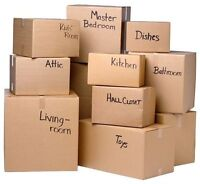 ACCEPTS ALL KINDS OF MOVING-FREE BOXES UPON BOOKING