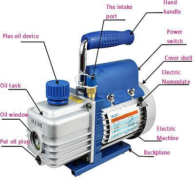 Vacuum Pump 2 Cfm 1 Stage Voltage 220 V 50 Hz New Best Price Top-grade