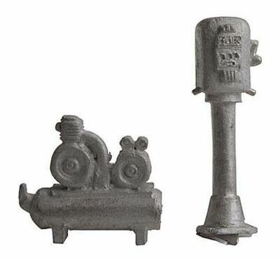 BAR MILLS 4031 O Scale Air Pump Compressor Garage Gas Station Details FREE SHIP