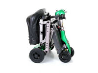 Folding Mobility Scooter + Flight Travel Case + 3 Month Warranty