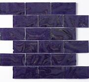 Purple Mosaic Tiles