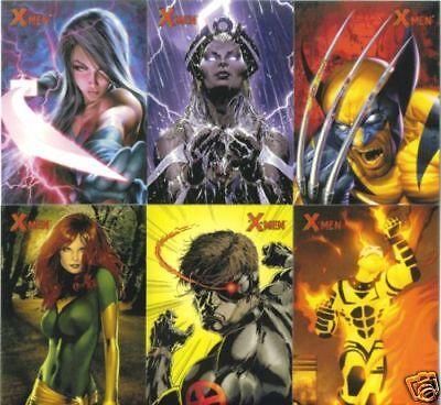 2009 X MEN ARCHIVES MARVEL COMIC TRADING CARD SET (NEW)