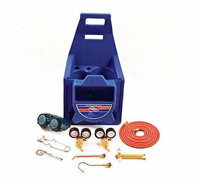 Uniweld Kchp Cap N Hook Braze Kit Complete W Hoses Goggles Regulators Stand