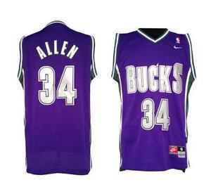 on sale 1190a c177f ray allen purple bucks jersey